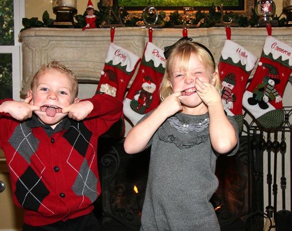 orange county family photographer | 'tis the season to be… silly!